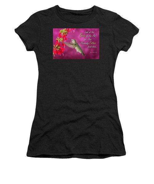 Matthew 6 26 Women's T-Shirt