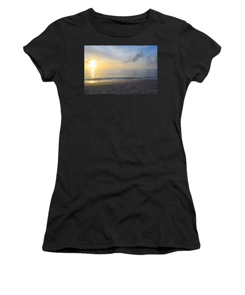 Women's T-Shirt featuring the photograph May 28th Sunrise by Barbara Ann Bell