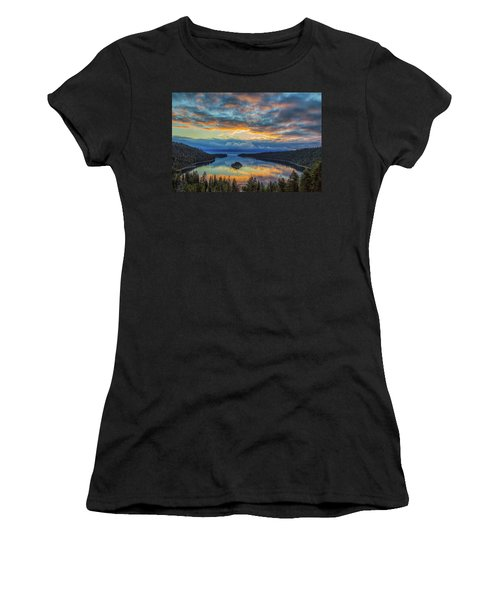 May Sunrise At Emerald Bay Women's T-Shirt
