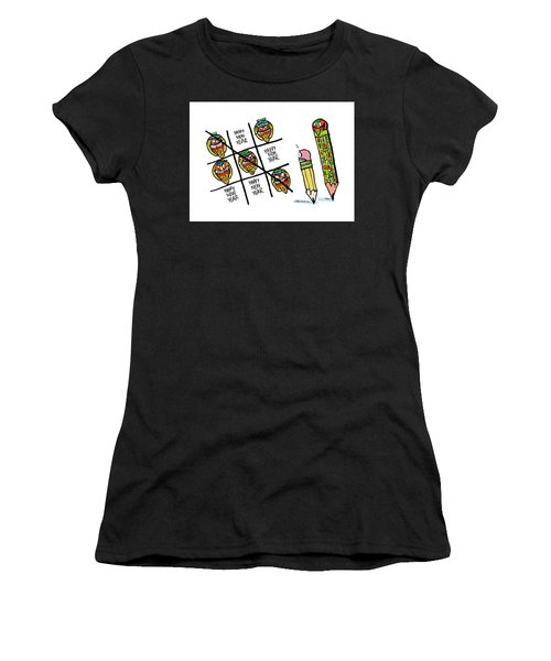 Mayan Tic Tac Toe Women's T-Shirt