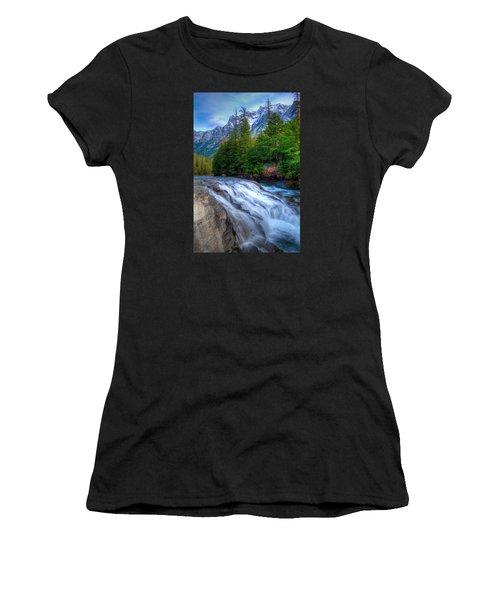 Mcdonald Creek Women's T-Shirt (Athletic Fit)