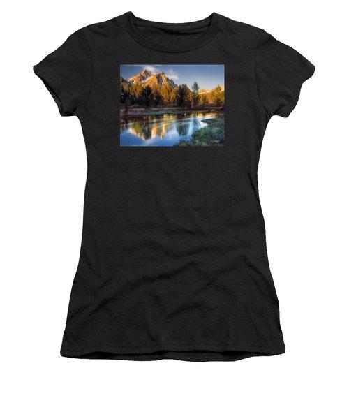 Mcgown Peak Sunrise  Women's T-Shirt (Athletic Fit)