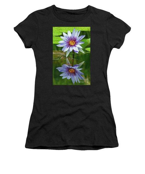 Mckee Waterlily II Women's T-Shirt (Athletic Fit)