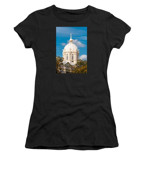 Mclennan County Courthouse Dome By J. Reily Gordon - Waco Central Texas Women's T-Shirt