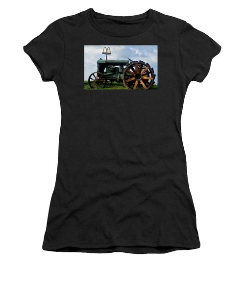 Mctractor Women's T-Shirt (Junior Cut) by Gary Smith
