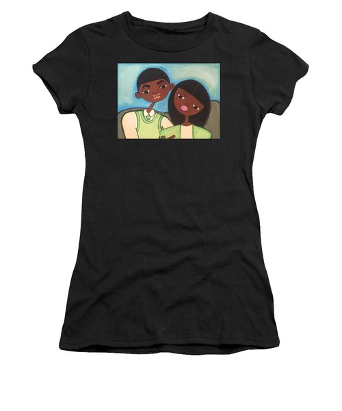 Me And My Boo Women's T-Shirt (Athletic Fit)