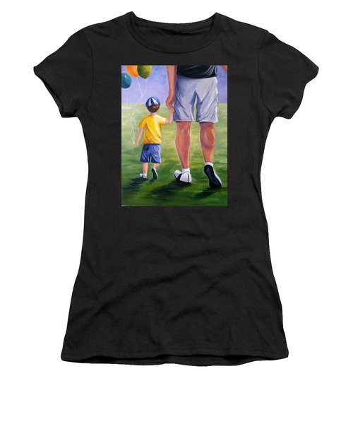 Me And My Dad Women's T-Shirt (Athletic Fit)