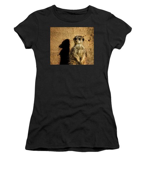 Me And My Shadow Women's T-Shirt (Athletic Fit)