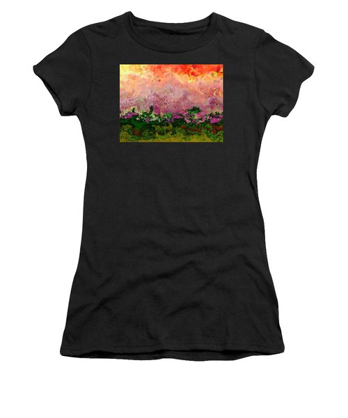 Meadow Morning Women's T-Shirt (Athletic Fit)