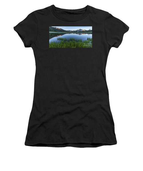 Meadow Reflections  Women's T-Shirt (Athletic Fit)