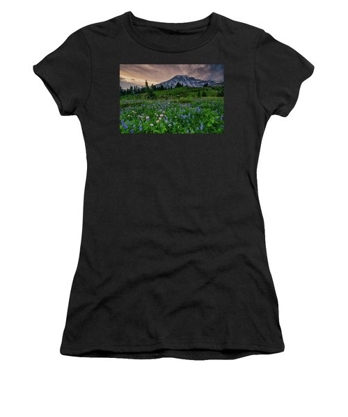 Meadows Of Heaven Women's T-Shirt (Athletic Fit)
