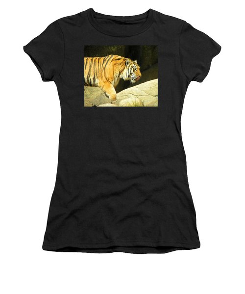 Women's T-Shirt (Junior Cut) featuring the photograph Meal Time by Sandi OReilly