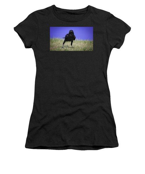 Menacing Crow Women's T-Shirt