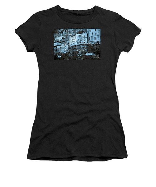 Medieval Castle In The Pilgrimage Town Of Rocamadour Women's T-Shirt