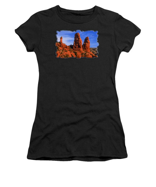 Megalithic Red Rocks Women's T-Shirt (Athletic Fit)