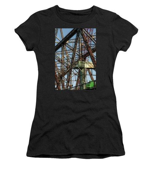 Memorial Bridge Women's T-Shirt (Athletic Fit)