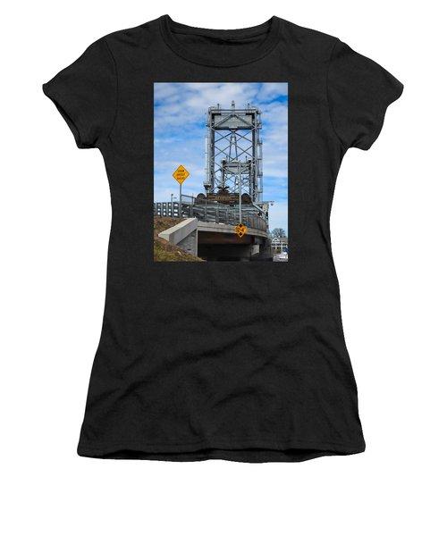 Memorial Bridge Portsmouth  Nh Women's T-Shirt