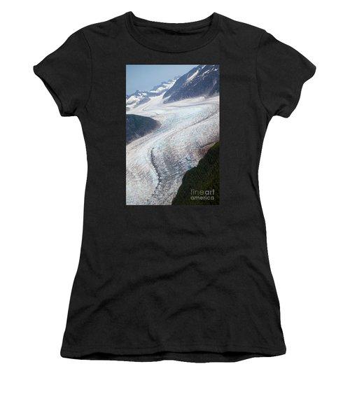 Mendenhal Glacier Women's T-Shirt (Athletic Fit)