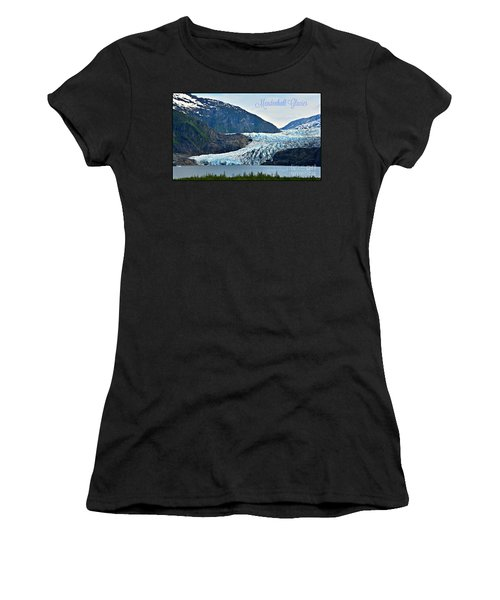 Mendenhall Glacier Women's T-Shirt (Athletic Fit)