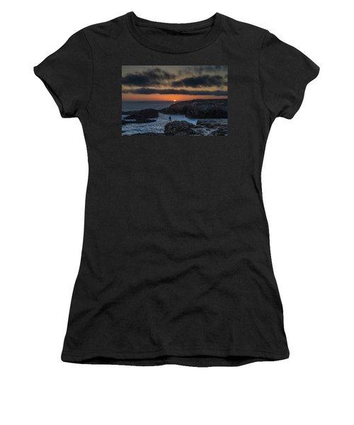 Mendocino Sunset Women's T-Shirt