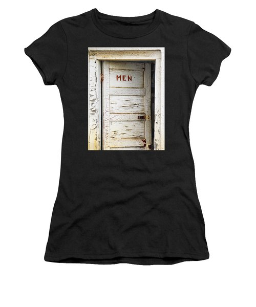 Men's Room Women's T-Shirt