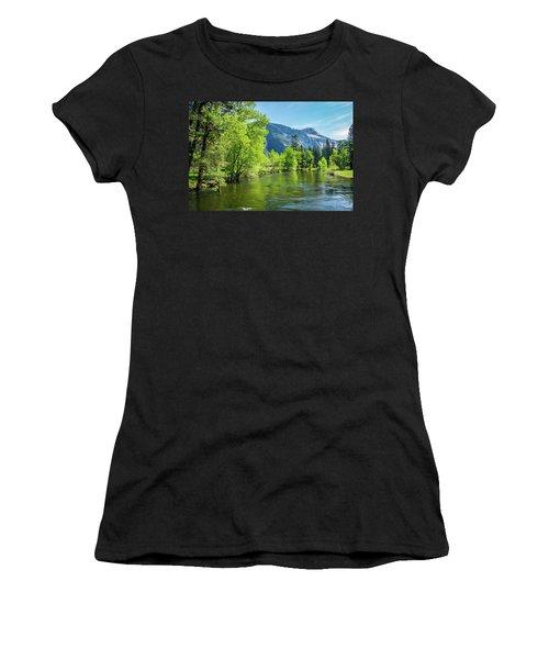 Merced River In Yosemite Valley Women's T-Shirt