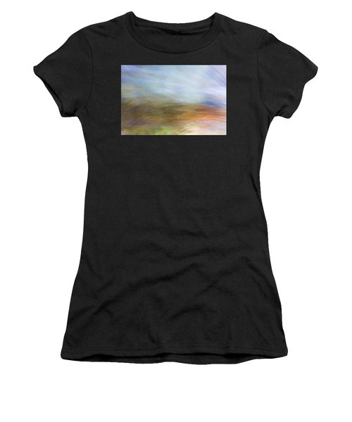 Merced River Reflections 21 Women's T-Shirt (Athletic Fit)