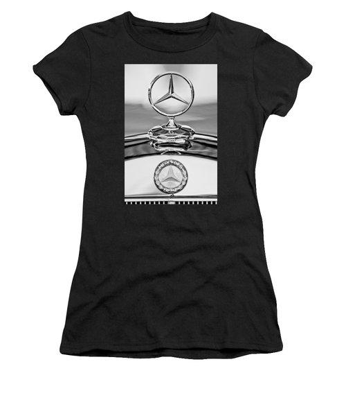 Mercedes Benz Hood Ornament 2 Women's T-Shirt