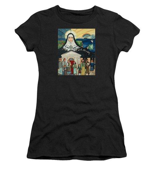 Mercy Foundress Catherine Mcauley Women's T-Shirt (Athletic Fit)