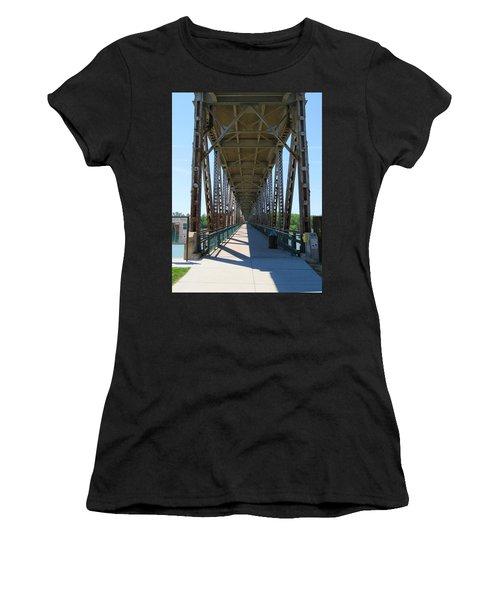 Meridian Bridge Women's T-Shirt (Athletic Fit)
