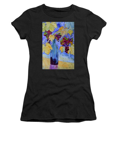 Merlot Women's T-Shirt (Athletic Fit)