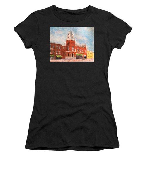 Merrimac Massachusetts Women's T-Shirt (Athletic Fit)