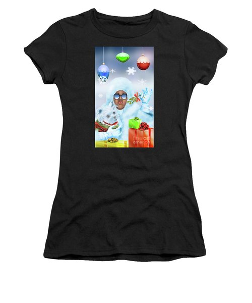 Merry Christmas And Kisses Women's T-Shirt