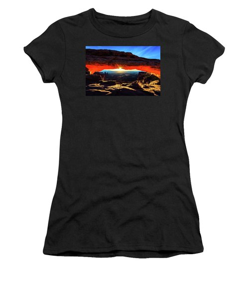 Mesa Arch Sunrise Women's T-Shirt