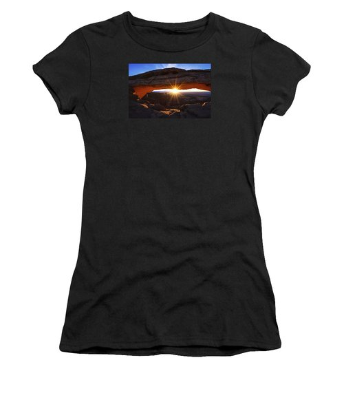 Mesa Sunrise Women's T-Shirt (Athletic Fit)