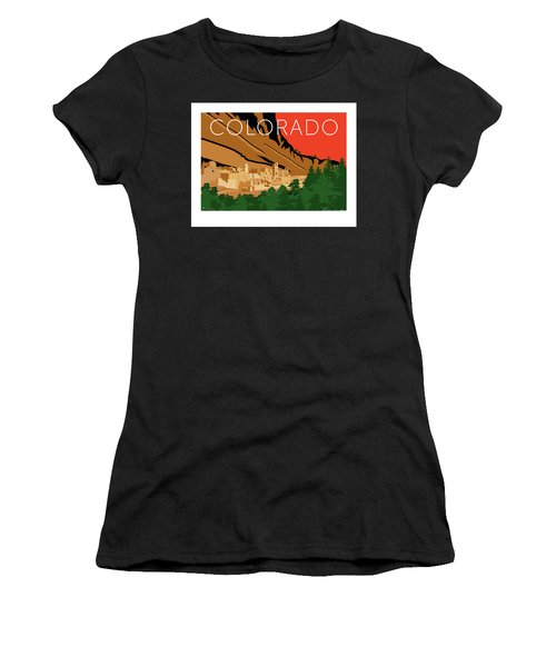 Mesa Verde Orange Women's T-Shirt (Athletic Fit)