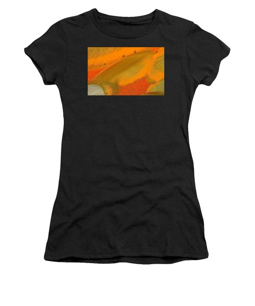 Women's T-Shirt featuring the photograph Metal Abstract Four by David Waldrop