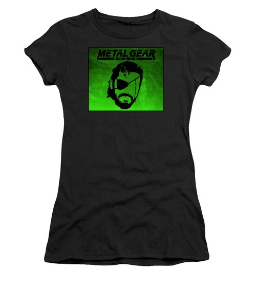 Metal Gear Solid Women's T-Shirt (Athletic Fit)