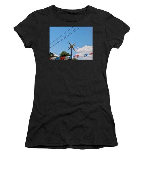 Metal Star In The Sky Women's T-Shirt