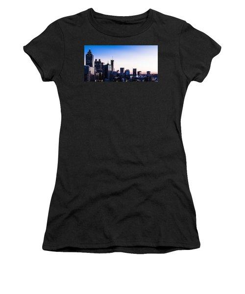 Metallic Sunset Women's T-Shirt