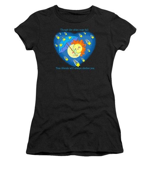 Meteor Shower 2 Women's T-Shirt (Athletic Fit)