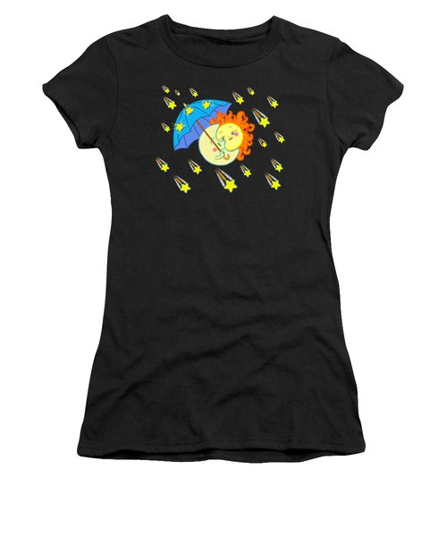 Meteor Shower Women's T-Shirt (Athletic Fit)