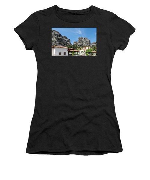 Meteora In Greece Women's T-Shirt