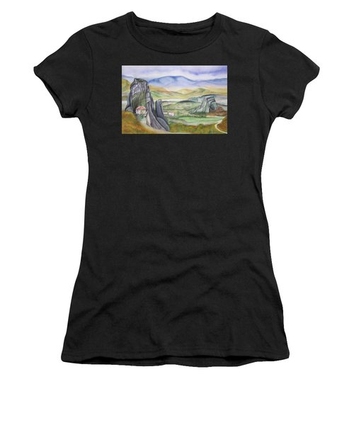 Meteora Women's T-Shirt (Athletic Fit)