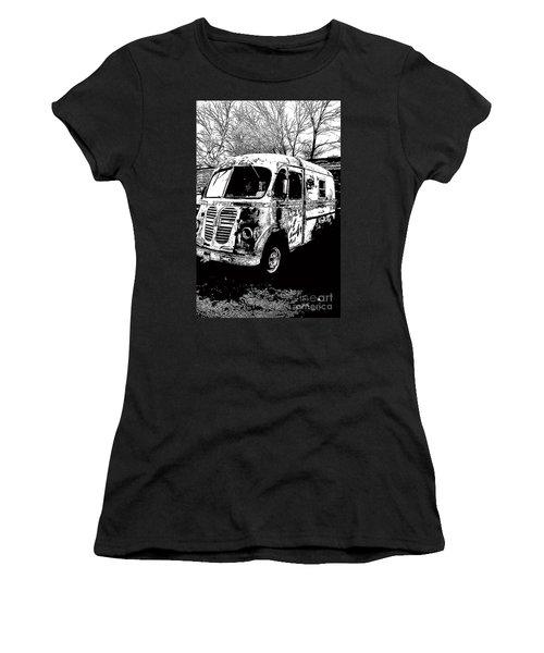 Metro Van Side Women's T-Shirt (Athletic Fit)