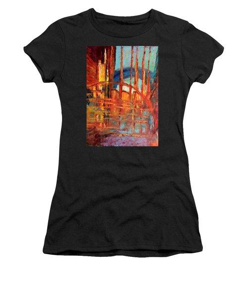 Metropolis In Space Women's T-Shirt