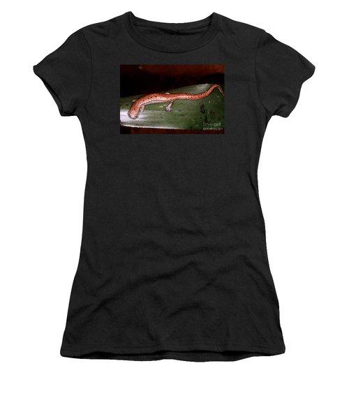 Mexican Palm Salamander Women's T-Shirt (Athletic Fit)