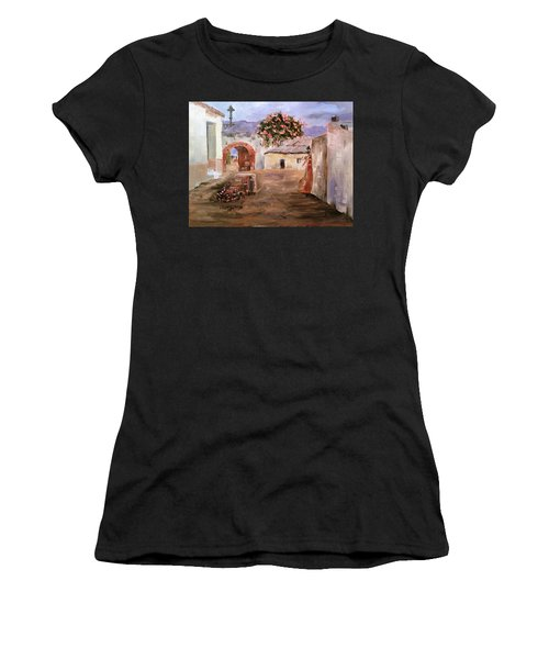 Mexican Street Scene Women's T-Shirt (Athletic Fit)