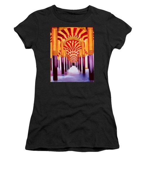 Mezquita De Cordoba Women's T-Shirt (Athletic Fit)