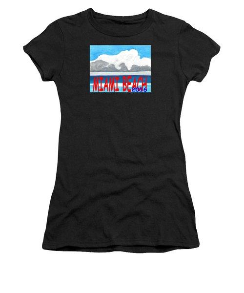 Miami Beach 2016 Women's T-Shirt (Athletic Fit)
